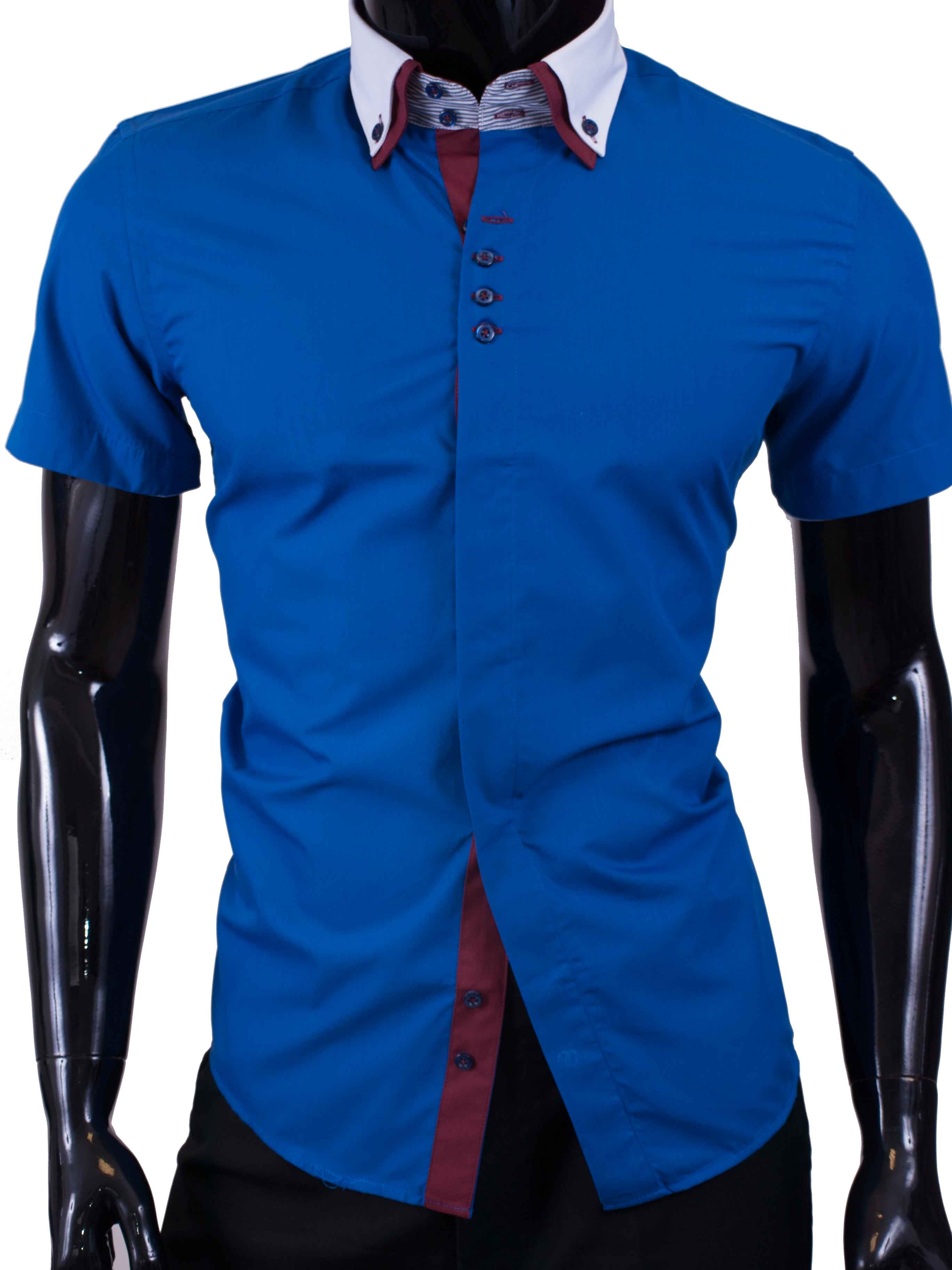 Pánská košile BOSTON s krátkým rukávem bílá - kvalitní oblečení ... fe3528e6e2