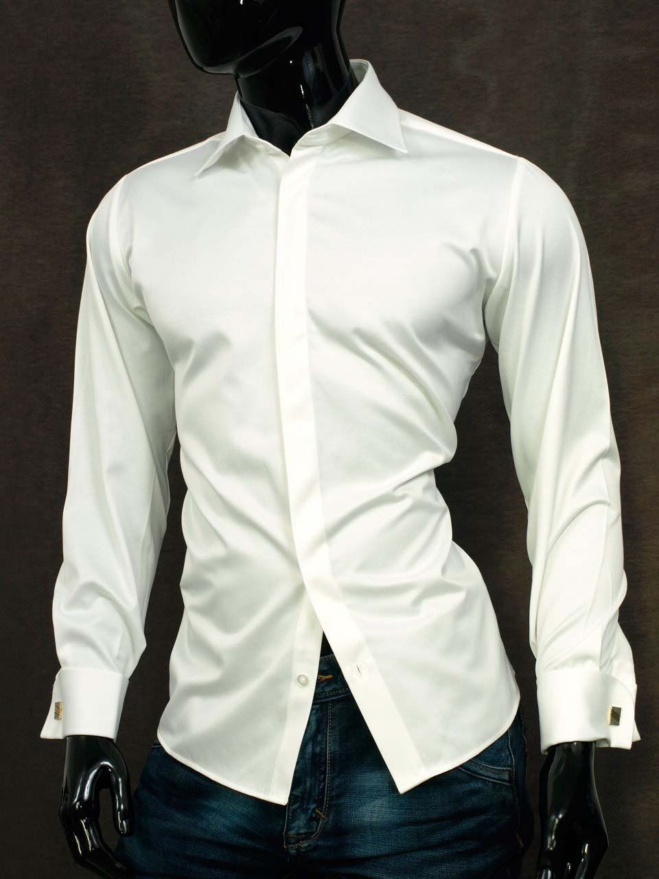 Košile na manžetové knoflíčky