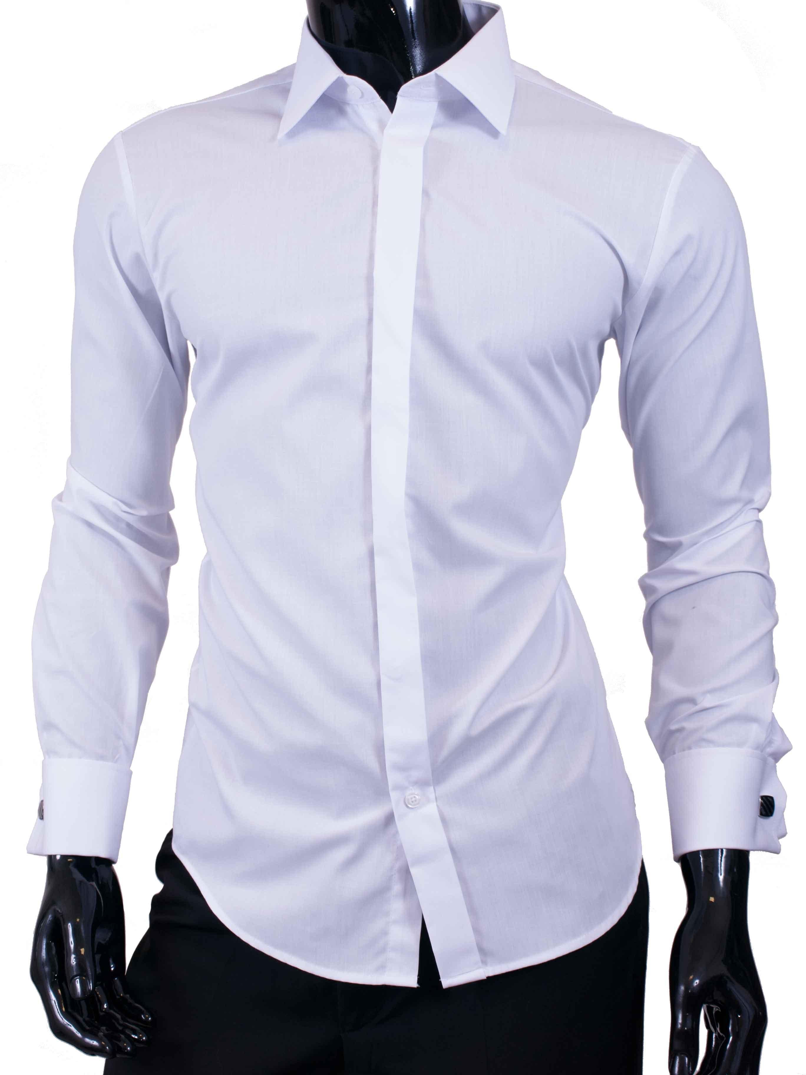 Košile na manžetové knoflíčky Adriano