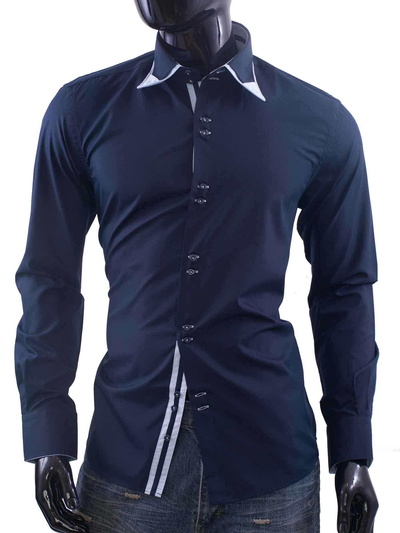 Pánská košile Ego-Man námořnická modř