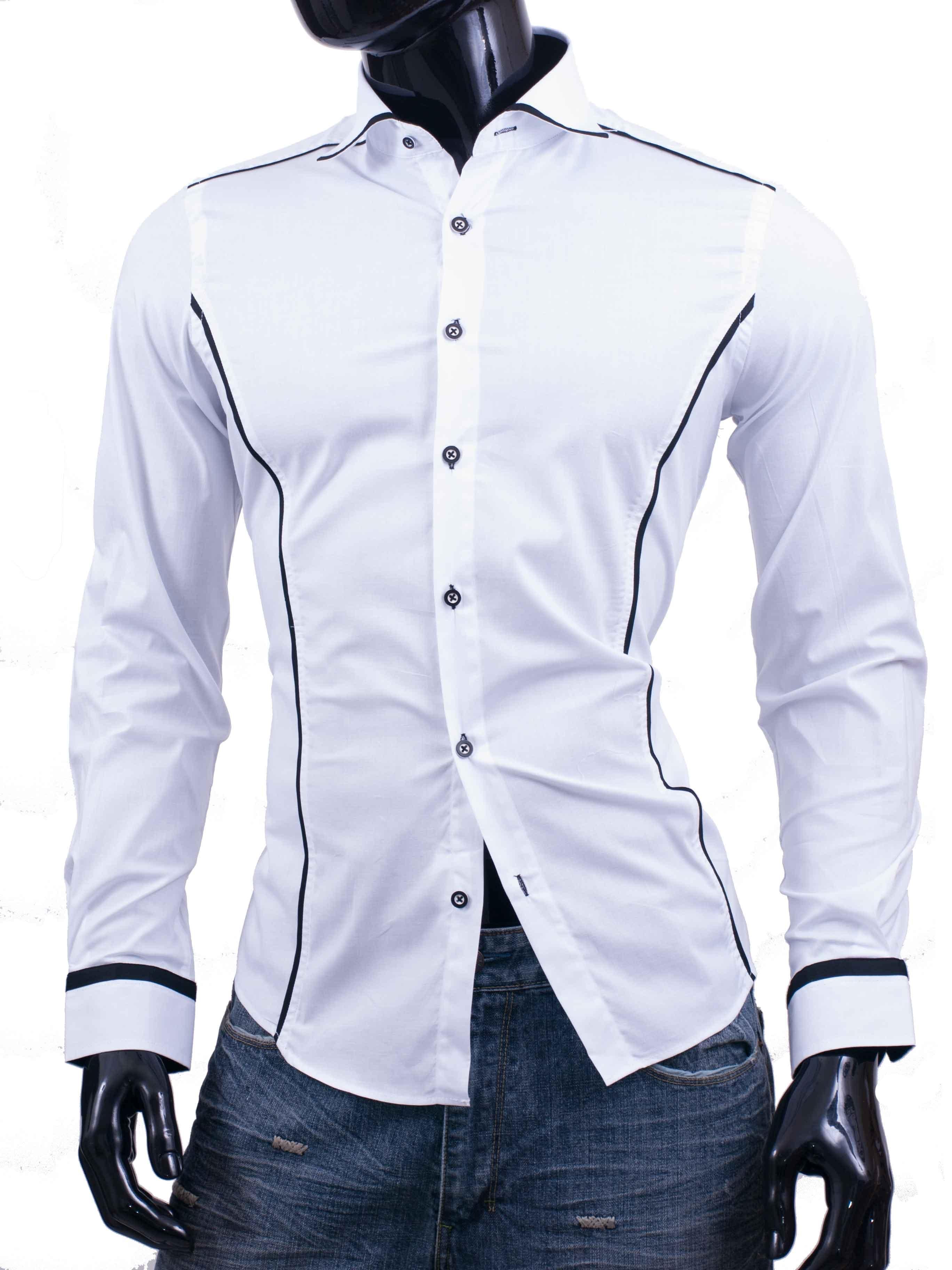 Košile Bragga Hill bílá