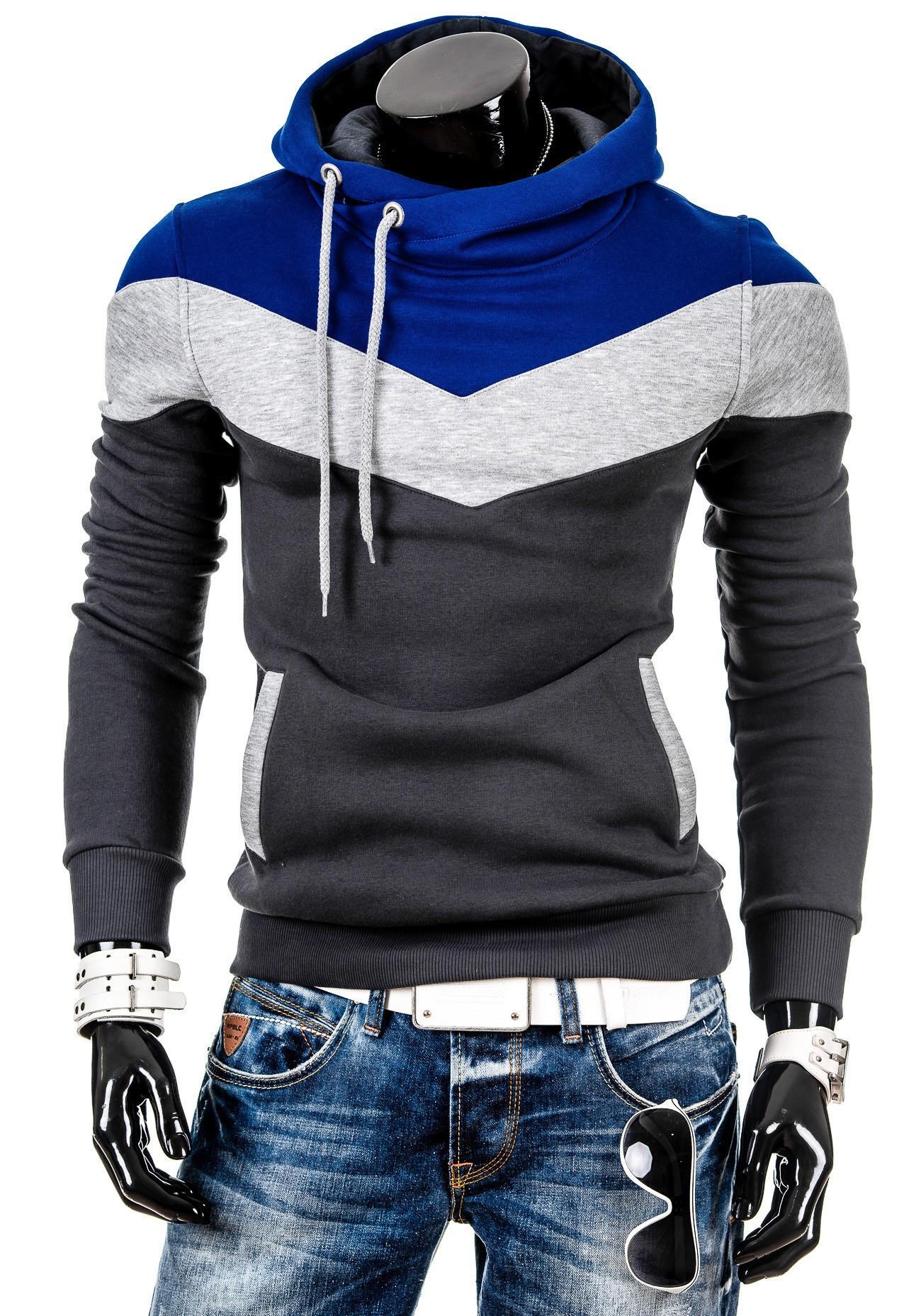 68bd70497e5 Pánská mikina s kombinací tří barev graffit - kvalitní oblečení ...